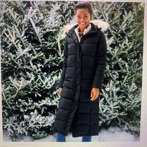 LL Bean Ultrawarm Long down coat